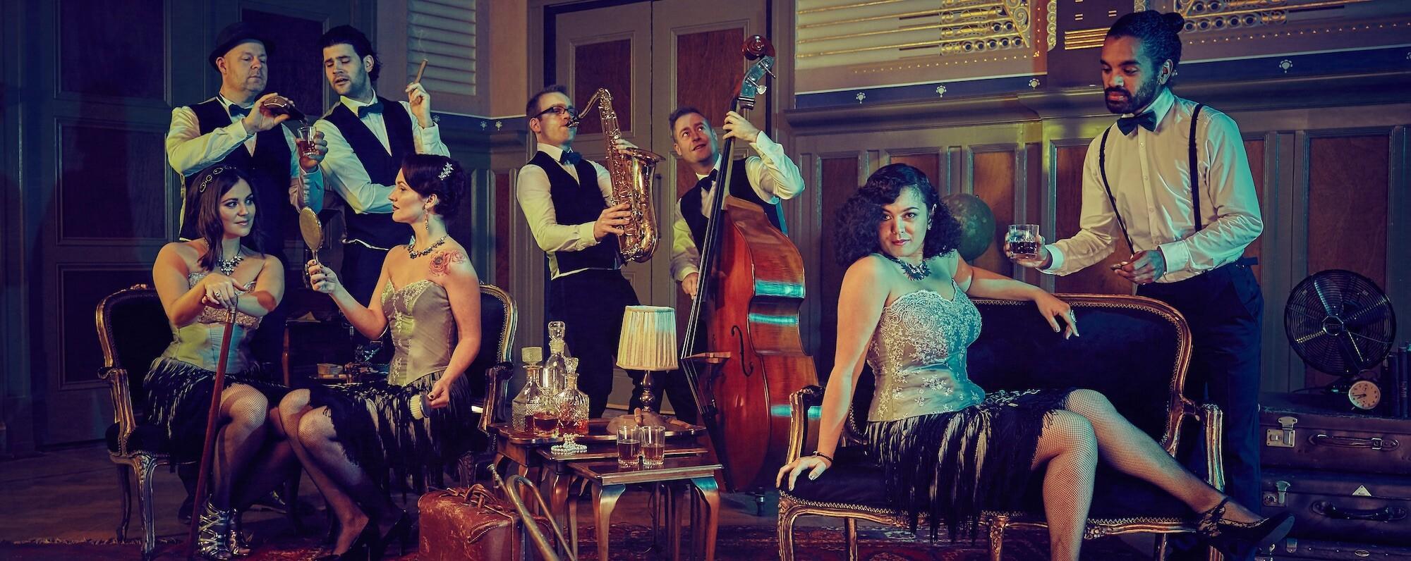 Vintage Band akoestisch
