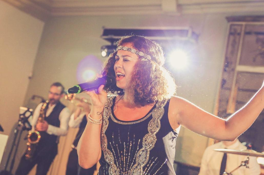 The Great Gatsby - Akoestische band - vintage-band