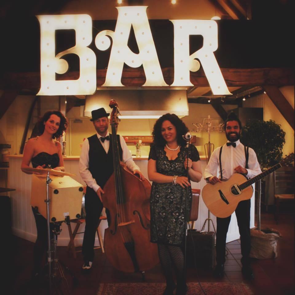 akoestische band vintage - coverband voor bruiloft of feest