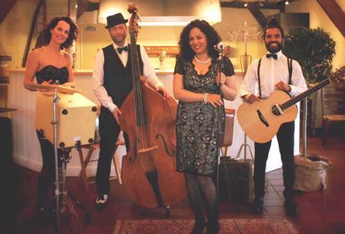 akoestische vintage band MINDY