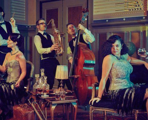 akoestische band Mindy vintage