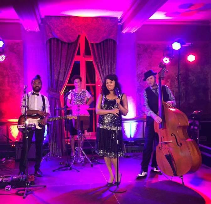 Akoestische Great Gatsby band